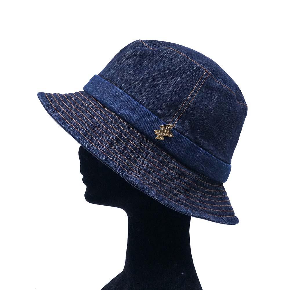 e-zoo(イーズー秋冬物) indigo handsome hat 詳細画像4