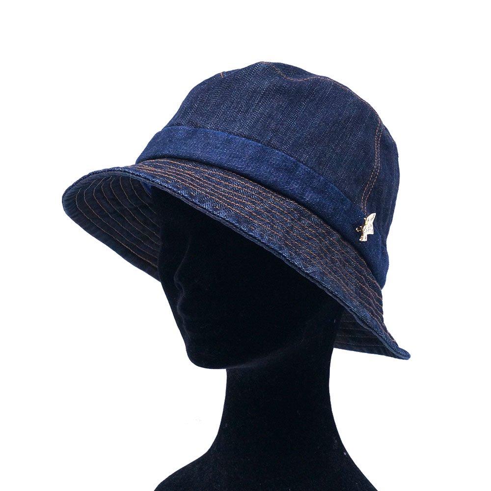 e-zoo(イーズー秋冬物) indigo handsome hat 詳細画像5