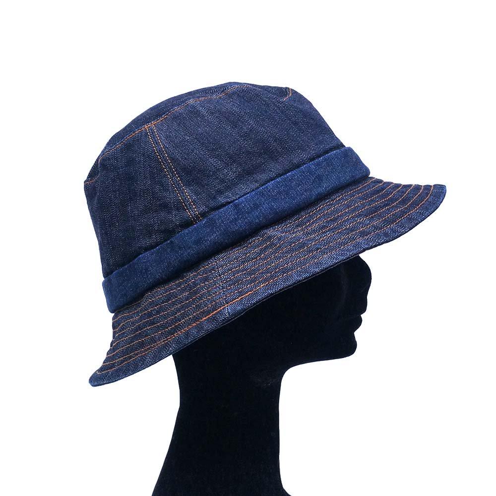 e-zoo(イーズー秋冬物) indigo handsome hat 詳細画像6