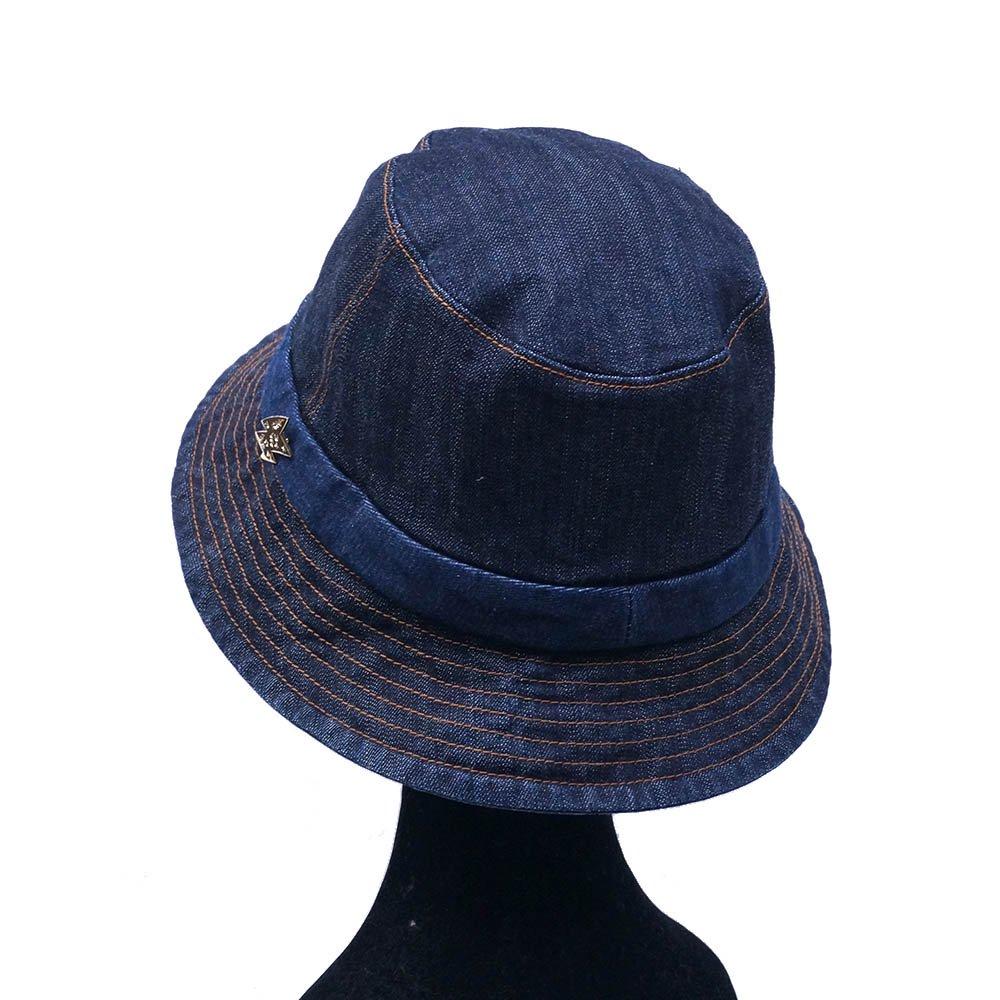 e-zoo(イーズー秋冬物) indigo handsome hat 詳細画像7