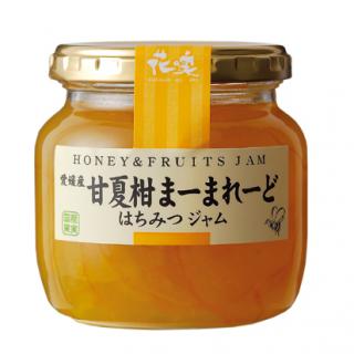 愛媛産甘夏柑まーまれーど蜂蜜ジャム 220g