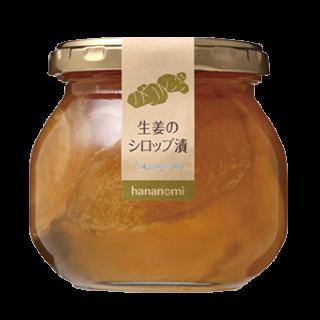 生姜シロップ漬