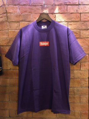 kings originals BOX LOGO TEE