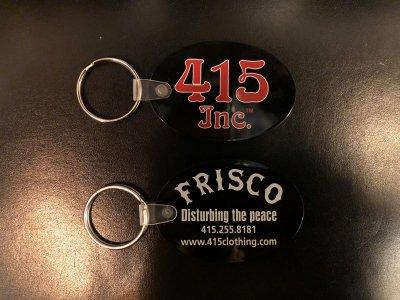 """415 CLOTHING  """"""""FRISCO キーホルダー"""""""""""