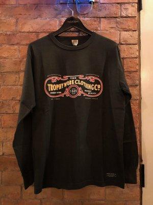 "TROPHY CLOTHING  """"15th Work Logo OD L/S TEE"""""