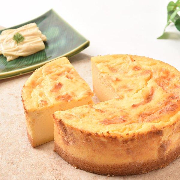 プレミアム湯葉チーズケーキ