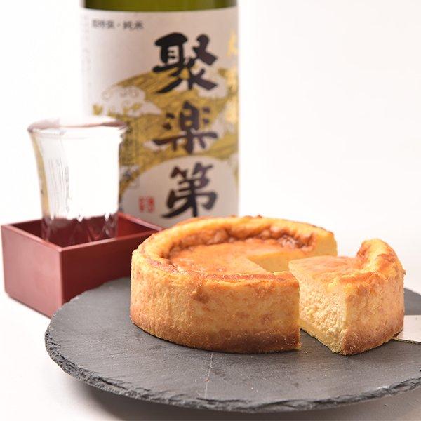 京都佐々木酒造日本酒チーズケーキ