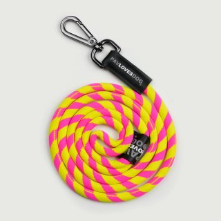 <img class='new_mark_img1' src='https://img.shop-pro.jp/img/new/icons57.gif' style='border:none;display:inline;margin:0px;padding:0px;width:auto;' />PAV LOVES DOG PINK & YELLOW/ORIGINAL LANYARDS(パブラブスドッグ・ピンク&イエロー/オリジナル・ランヤード)