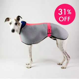 <img class='new_mark_img1' src='https://img.shop-pro.jp/img/new/icons24.gif' style='border:none;display:inline;margin:0px;padding:0px;width:auto;' />WATERPROOF DOG COAT SIGHTHOUND PRED.PINK/DOGSNUG(ウォータープルーフ・ドッグコート・サイトハウンド・プレッドピンク/ドッグスナッグ)