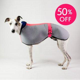 WATERPROOF DOG COAT SIGHTHOUND PRED.PINK/DOGSNUG(ウォータープルーフ・ドッグコート・サイトハウンド・プレッドピンク/ドッグスナッグ)