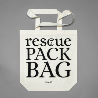 RESC7UE TOTE BAG NATURE / CLOUD7(レスキュー・トートバッグ・ネイチャー/クラウド7)