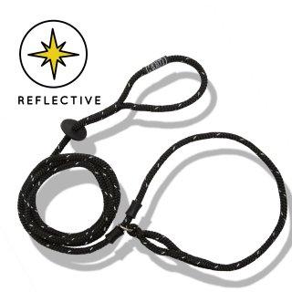 BLACK REFLECTIVE HARNESS LEAD  / HARNESS LEAD(ブラック・リフレクティグ・ハーネスリード / ハーネスリード)