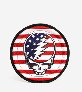 <img class='new_mark_img1' src='https://img.shop-pro.jp/img/new/icons5.gif' style='border:none;display:inline;margin:0px;padding:0px;width:auto;' />Grateful Dead® Steal Your Face Frisbee / Fabdog(グレイトフルデッド・フリスビー / ファブドッグ)