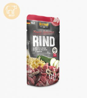 <img class='new_mark_img1' src='https://img.shop-pro.jp/img/new/icons5.gif' style='border:none;display:inline;margin:0px;padding:0px;width:auto;' />BEEF WITH SPAETZLE & COURGETTES / BELCANDO(ビーフとシュペッツレとズッキーニ / ベルカンド)