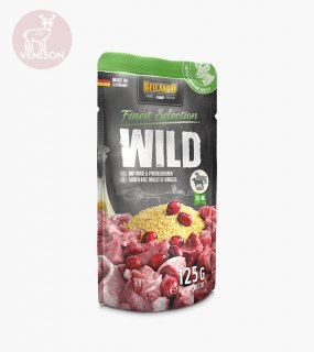 <img class='new_mark_img1' src='https://img.shop-pro.jp/img/new/icons5.gif' style='border:none;display:inline;margin:0px;padding:0px;width:auto;' />VENISON WITH MILLET & LINGONBERRY / BELCANDO(鹿肉とキビとリンゴンベリー / ベルカンド)