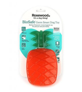 <img class='new_mark_img1' src='https://img.shop-pro.jp/img/new/icons5.gif' style='border:none;display:inline;margin:0px;padding:0px;width:auto;' />BIOSAFE GERM SMART DOG TOY - PINEAPPLE / ROSEWOOD