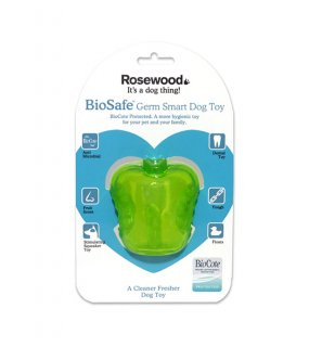 <img class='new_mark_img1' src='https://img.shop-pro.jp/img/new/icons5.gif' style='border:none;display:inline;margin:0px;padding:0px;width:auto;' />BIOSAFE GERM SMART DOG TOY - APPLE / ROSEWOOD