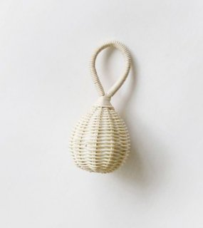 PET TOY RATTAN RATTLE / Horn Please MADE