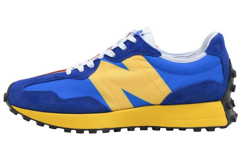 ニューバランス MS327LAA New Balance - BLUE/ORANGE/YELLOW