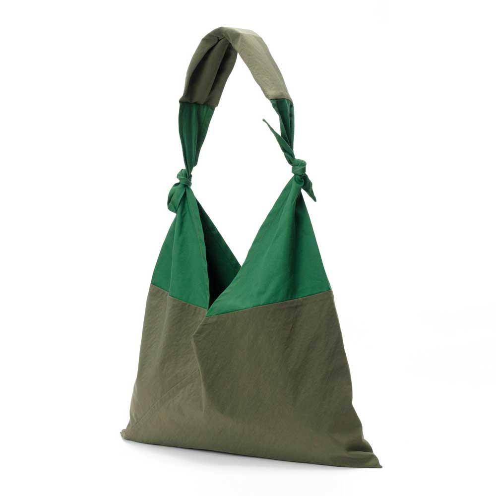 アヅマ バッグ x タスキ バッグ スタンダード スモール AZUMA BAG x TASUKI BAG STANDARD SMALL - OLIVE/GREEN