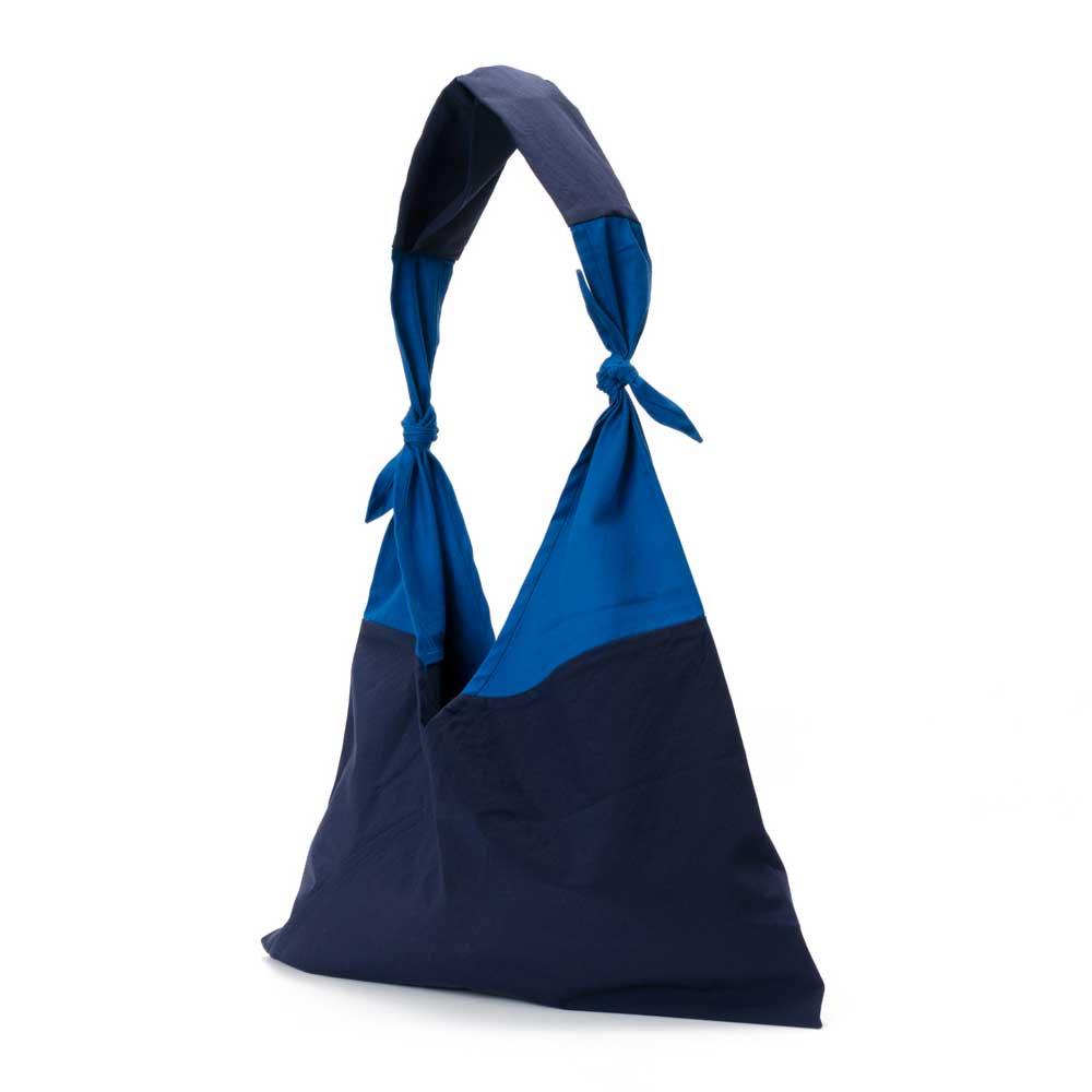 アヅマ バッグ x タスキ バッグ スタンダード ラージ AZUMA BAG x TASUKI BAG STANDARD LARGE - NAVY/BLUE