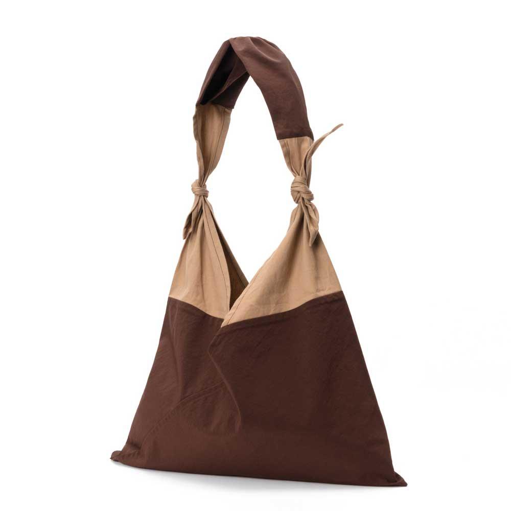 アヅマ バッグ x タスキ バッグ スタンダード ラージ AZUMA BAG x TASUKI BAG STANDARD LARGE - BROWN/CHESTNUT