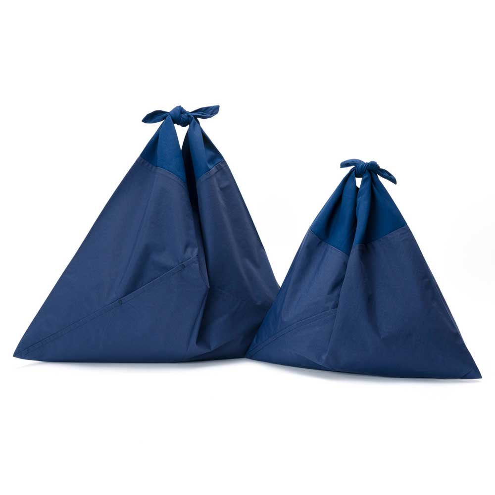アヅマ バッグ プレーン スモール AZUMA BAG PLAIN SMALL - NAVY/NAVY