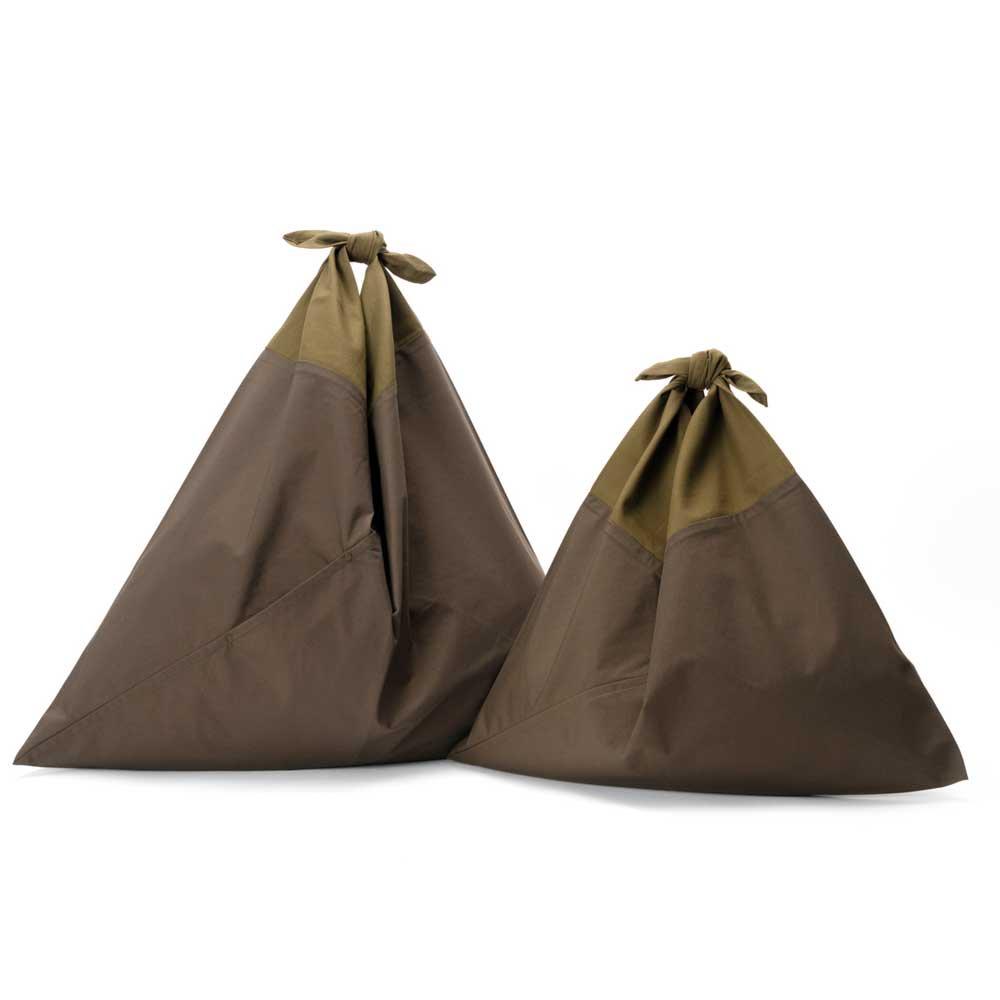 アヅマ バッグ プレーン スモール AZUMA BAG PLAIN SMALL - OLIVE/OLIVE