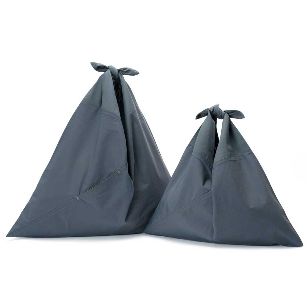 アヅマ バッグ プレーン スモール AZUMA BAG PLAIN SMALL - GRAY/GRAY