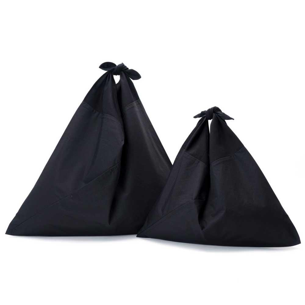 アヅマ バッグ プレーン ラージ AZUMA BAG PLAIN LARGE - BLACK/BLACK