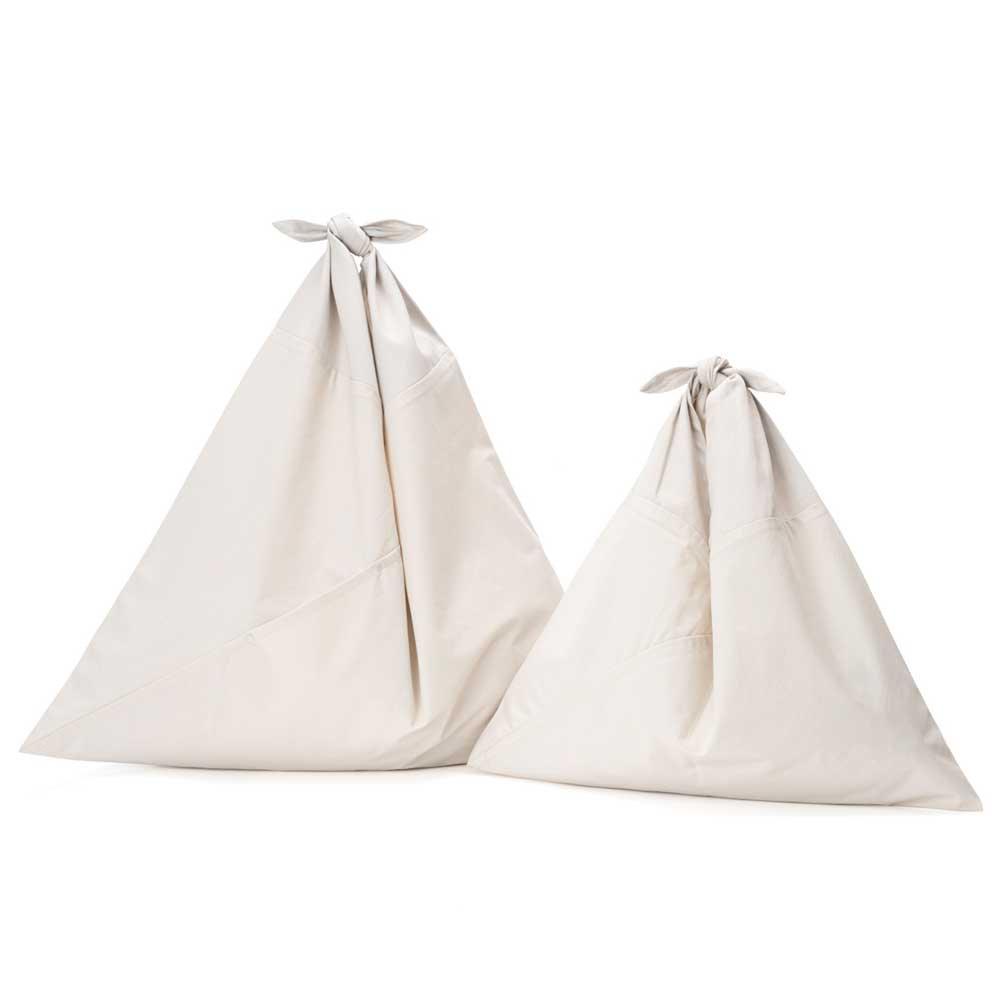 アヅマ バッグ プレーン ラージ AZUMA BAG PLAIN LARGE - IVORY/IVORY