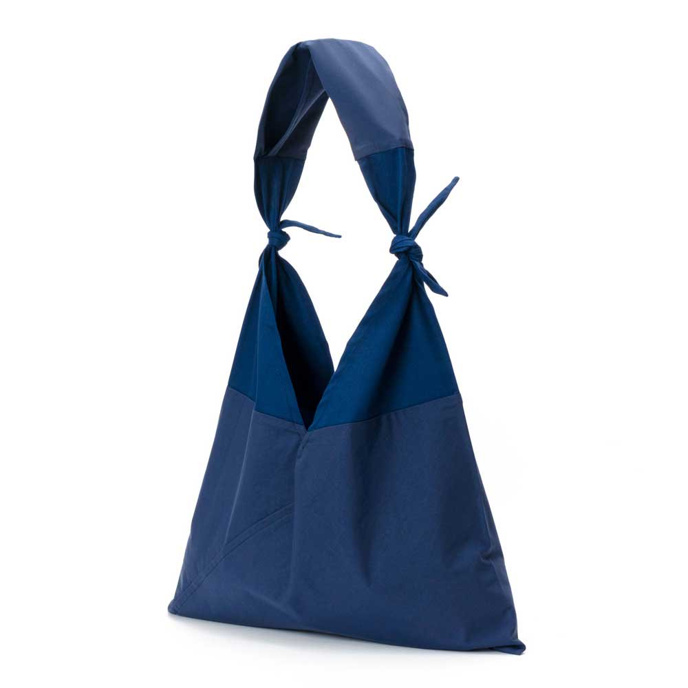 アヅマ バッグ x タスキ バッグ プレーン ラージ AZUMA BAG x TASUKI BAG PLAIN LARGE - NAVY/NAVY