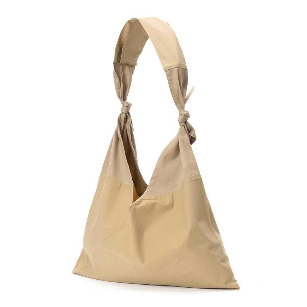 アヅマ バッグ x タスキ バッグ プレーン ラージ AZUMA BAG x TASUKI BAG PLAIN LARGE - BEIGE/BEIGE