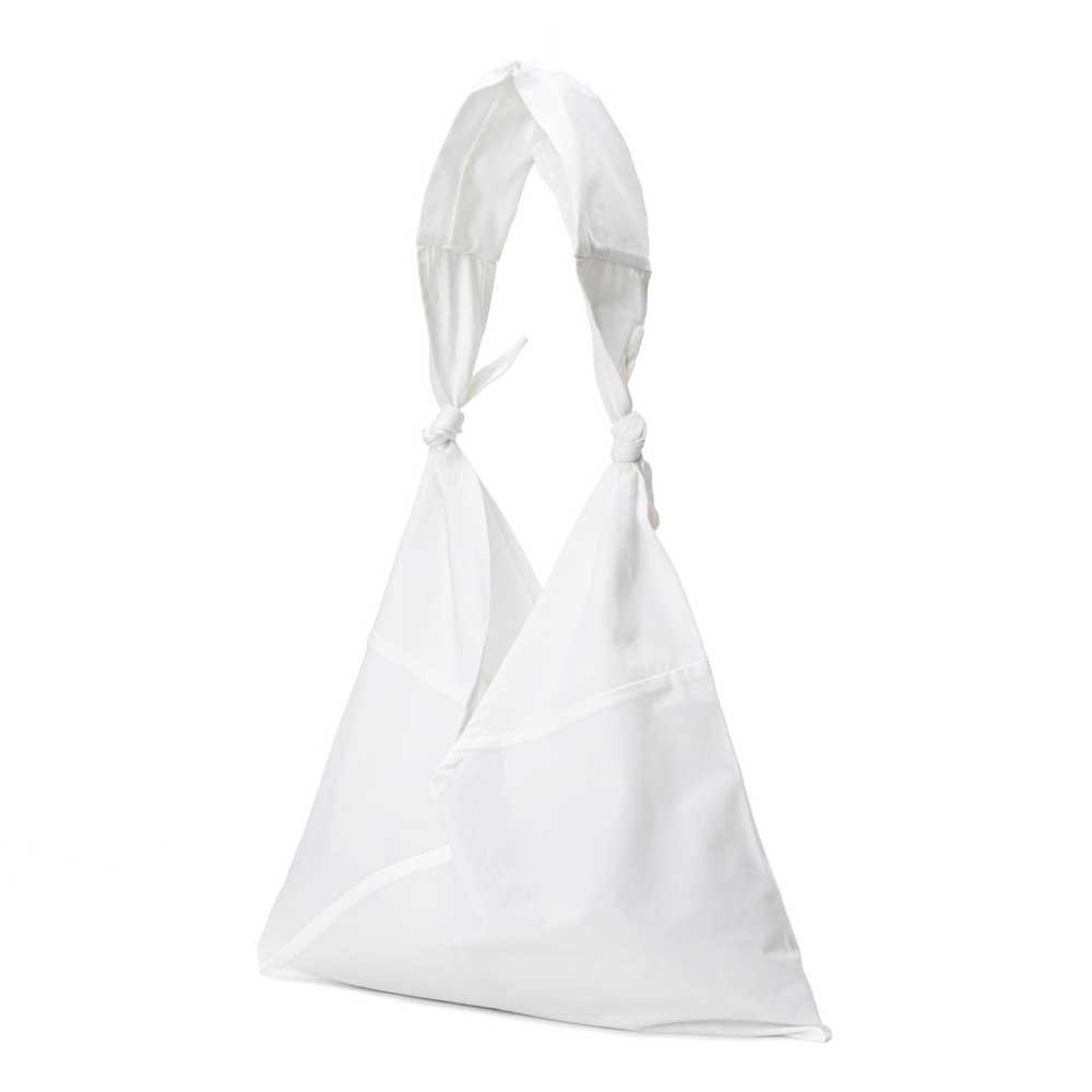 アヅマ バッグ x タスキ バッグ プレーン ラージ AZUMA BAG x TASUKI BAG PLAIN LARGE - WHITE/WHITE