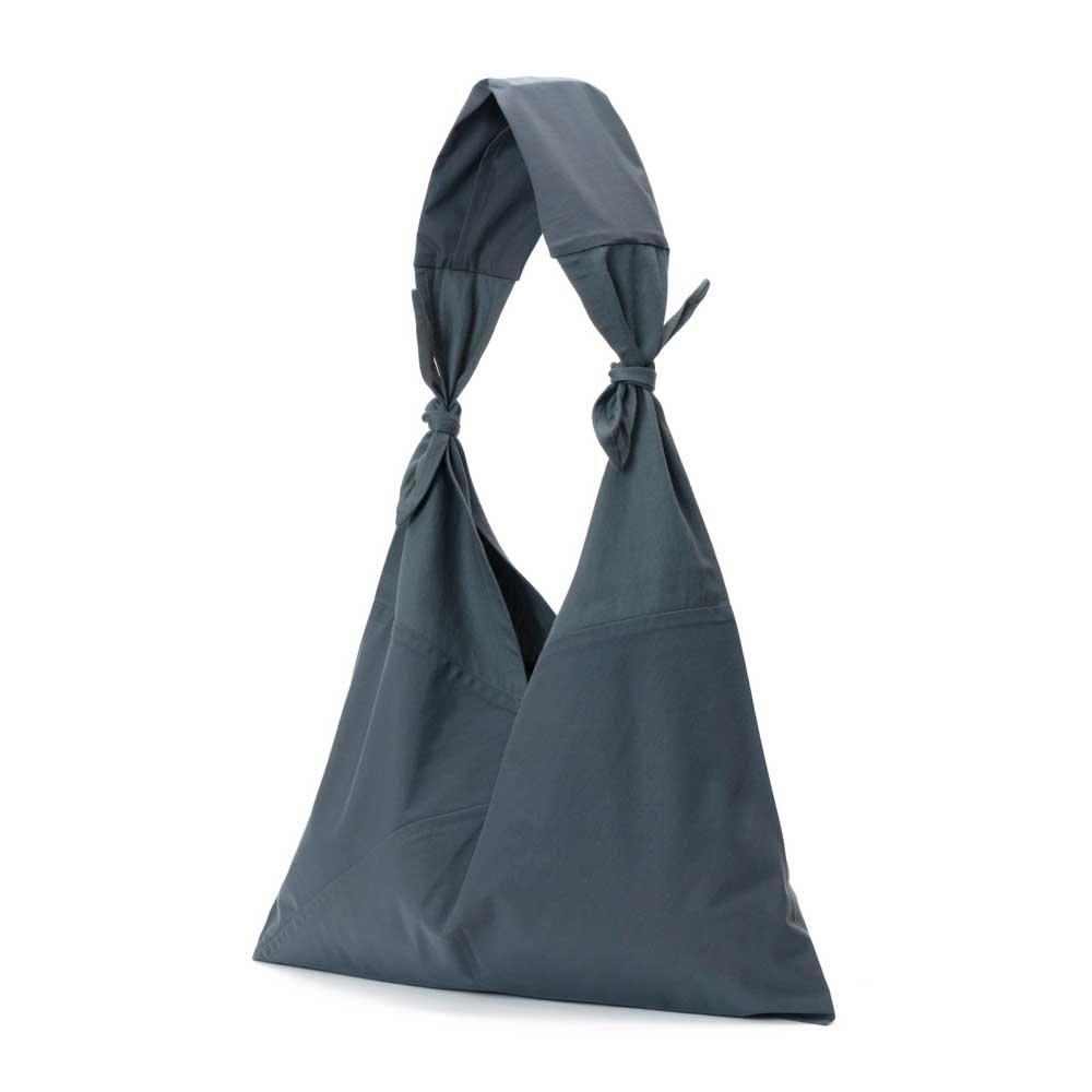 アヅマ バッグ x タスキ バッグ プレーン ラージ AZUMA BAG x TASUKI BAG PLAIN LARGE - GRAY/GRAY