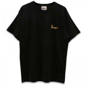 UPTOWN LOGO T-SH アップタウン ロゴ Tシャツ BLACK/YELLOW