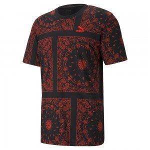 プーマ OB オール オーバー プリント Tシャツ PUMA OB AOP T-sh 532544-01