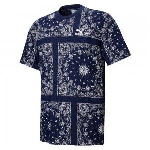 プーマ OB オール オーバー プリント Tシャツ PUMA OB AOP T-sh 532544-06