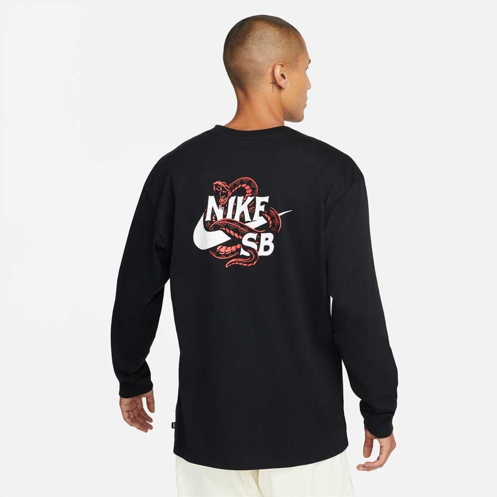 ナイキSB スネーク ロングスリーブ Tシャツ NIKE SB SNAKED L/S T-shirt DM2258-010