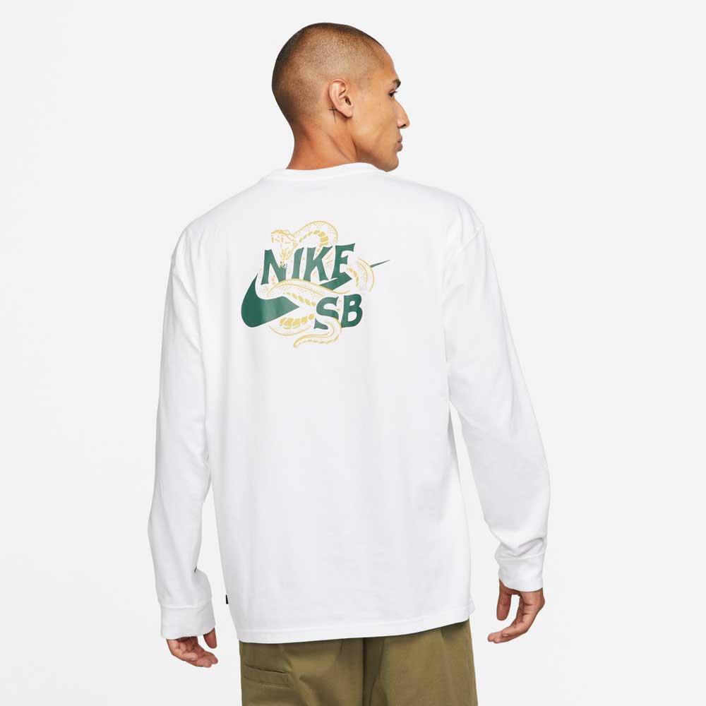 ナイキSB スネーク ロングスリーブ Tシャツ NIKE SB SNAKED L/S T-shirt DM2258-100