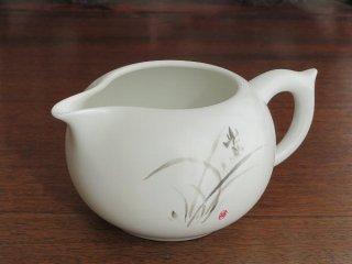 水墨蘭花茶海