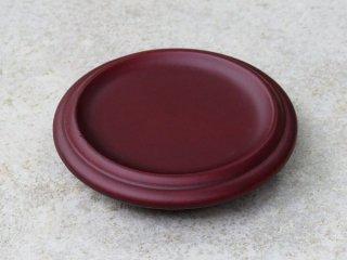 丸茶托 ブラウン