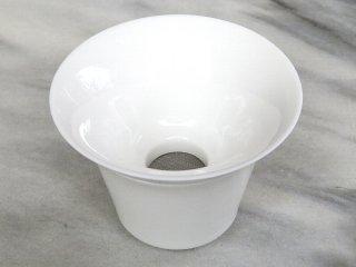 三希 牙白 茶濾し+茶濾し置き