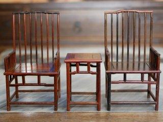 ミニチュア中国家具 酸枝 明式椅