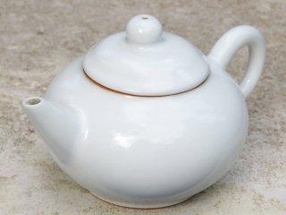 許徳家 白釉壺