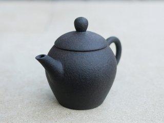 林國立 黒泥茶壺(3854)