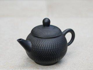 林國立 黒泥茶壺(3863)