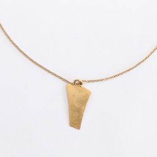 内山直人 真鍮ネックレス n-ch-br-9( 色:ゴールド)