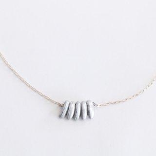 内山直人 真鍮ネックレス n-ch-br-10-sv(色:シルバー)