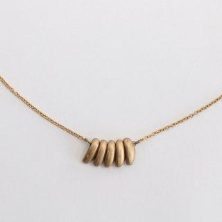 内山直人 真鍮ネックレス n-ch-br-10(色:ゴールド)
